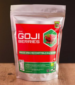 FREEZE DRIED GOJI BERRIES (organic) - 250g