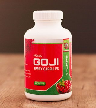 FREEZE DRIED GOJI BERRY CAPSULES (organic)