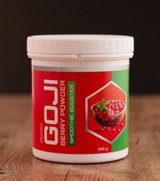 FREEZE DRIED GOJI BERRY POWDER (organic) - freeze dried