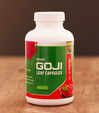 FREEZE DRIED GOJI LEAF CAPSULES (organic)