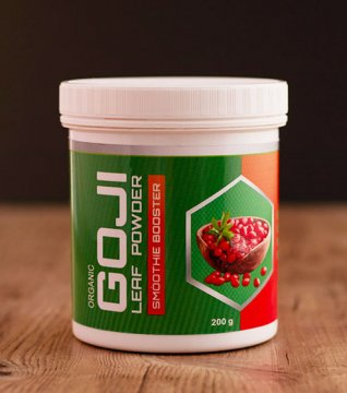 FREEZE DRIED GOJI LEAF POWDER (organic)