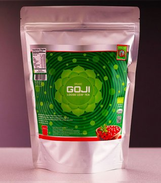 GOJI LEAF TEA (loose leaf tea) - 250 g
